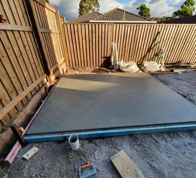 landscape concreting for your garden