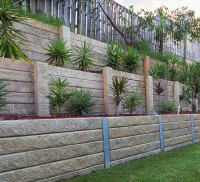 Retaining wall installation Brisbane