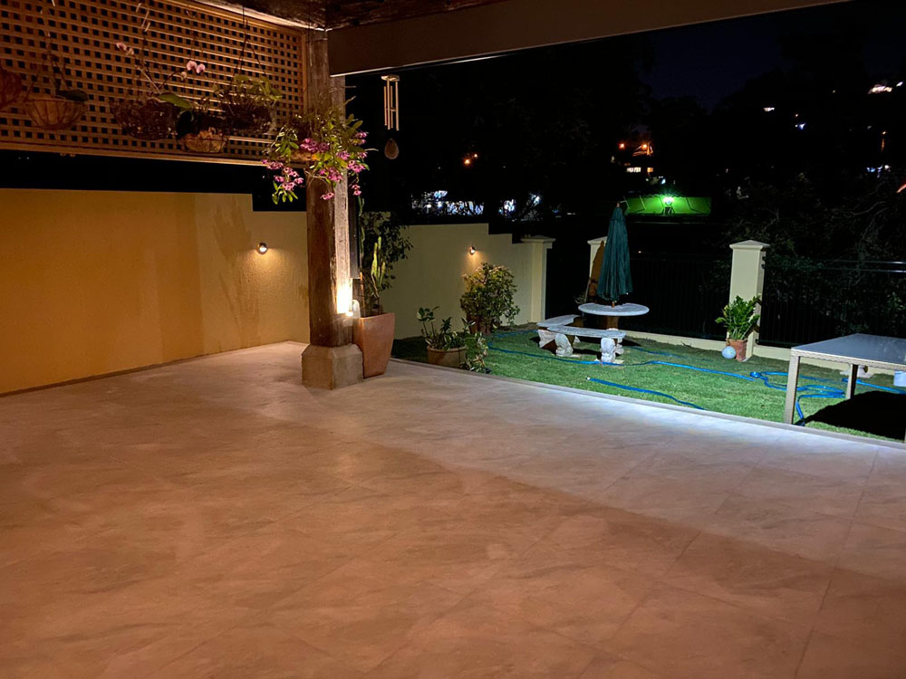 Hardscapes tiling and paving